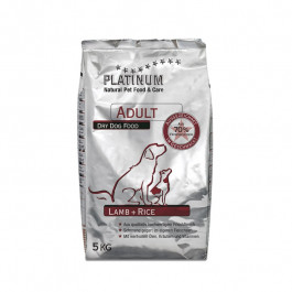 Platinum Adult Lamb+Rice 1,5kg