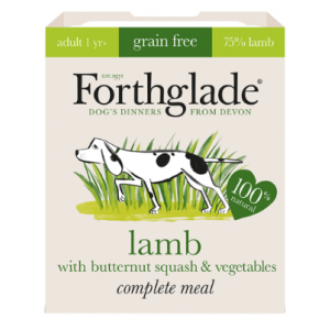 Forthglade Complete Meal Adult Lamb, Butternut Squash & Vegetables