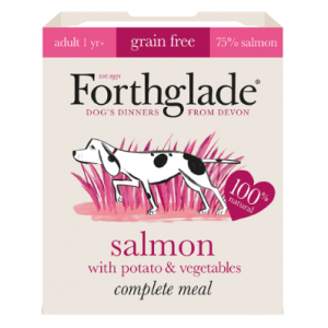 Forthglade Complete Adult Salmon with Potato & Vegetables