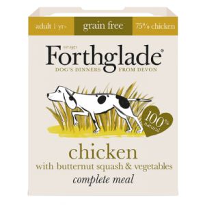 Forthglade Complete Adult Chicken with Butternut Squash & Vegetables