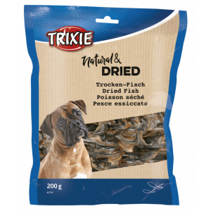 Trixie Natural & Dried Fish herkkukalat 200 g