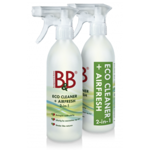 B&B Eco cleaner + airfresh 2-in-1 suihke 500 ml